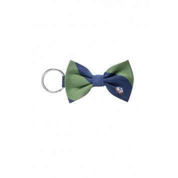 Green Cotton Keychain